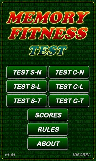 Memory Fitness Test