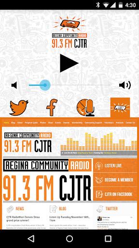 玩音樂App|91.3 FM CJTR Regina Radio免費|APP試玩