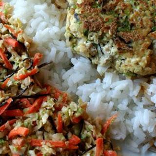 Sesame Scallion Tofu