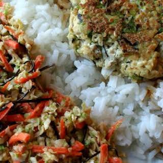 Sesame Scallion Tofu.