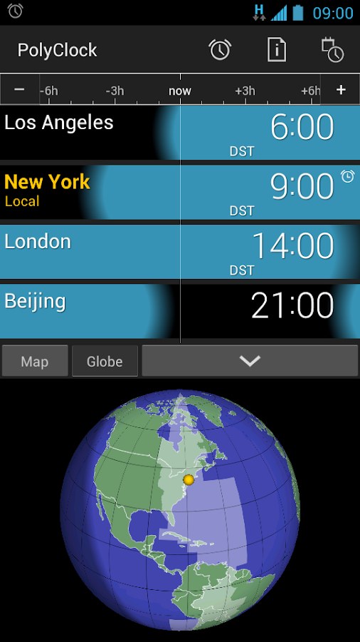 PolyClock™ World Clock- screenshot