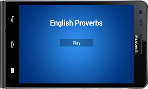 Millionaire Quiz Proverbs