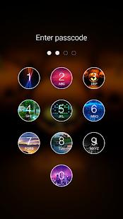 3 Photo Keypad Lock Screen App screenshot