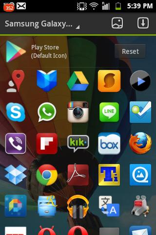 Samsung Galaxy S4 Theme - screenshot