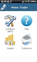 Screenshot of Phone Finder (Trial)
