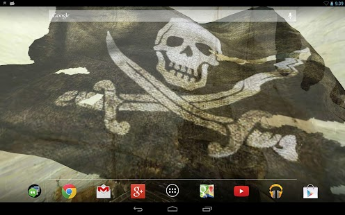 Pirate Flag Live Wallpaper Try - screenshot thumbnail