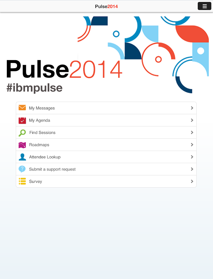 Pulse 2014 - screenshot