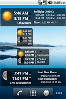 Screenshot of LunaSolCal Widgets