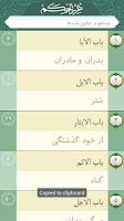 Screenshot of غررالحكم