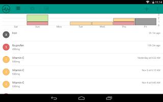 Screenshot of Pill Logger - Meds Tracker