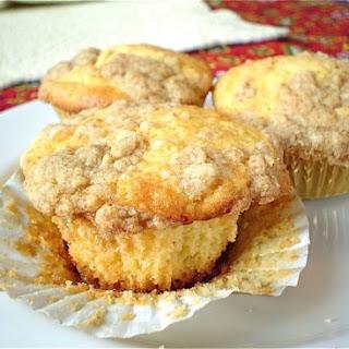 Sparkling Eggnog Muffins.
