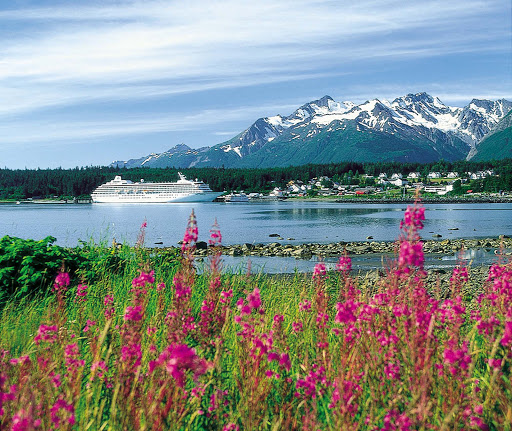 Experience a flower-filled spring in Haines, Alaska, aboard Crystal Symphony.