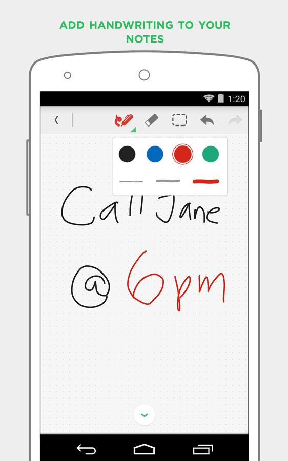 Evernote - screenshot