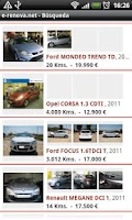 Screenshot of e-renova.net Coches de ocasion