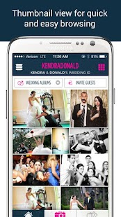 WedPics - Wedding Photo App - screenshot thumbnail