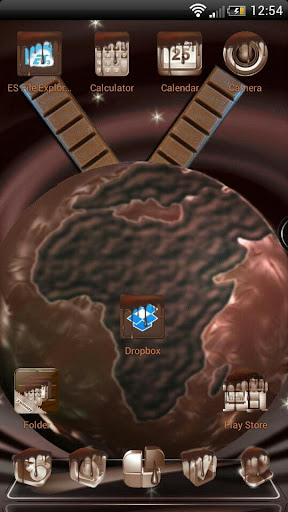 MetalCraft Next Launcher Theme - Mobogenie