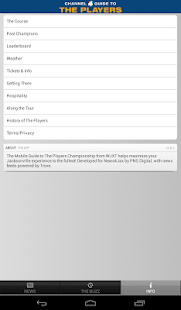 The Players Championship Guide - screenshot thumbnail