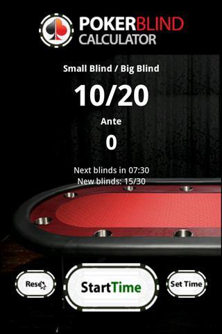 Heads up poker blinds dealer
