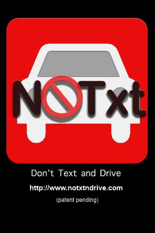 NoTXTnDrive - screenshot