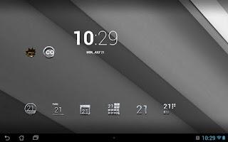 Screenshot of Tha Mercury - Icon Pack