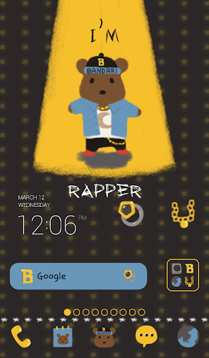 bear the rapper dodol theme