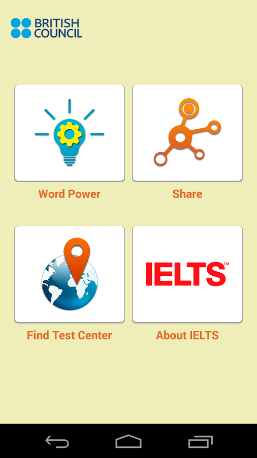 IELTS Word Power - screenshot