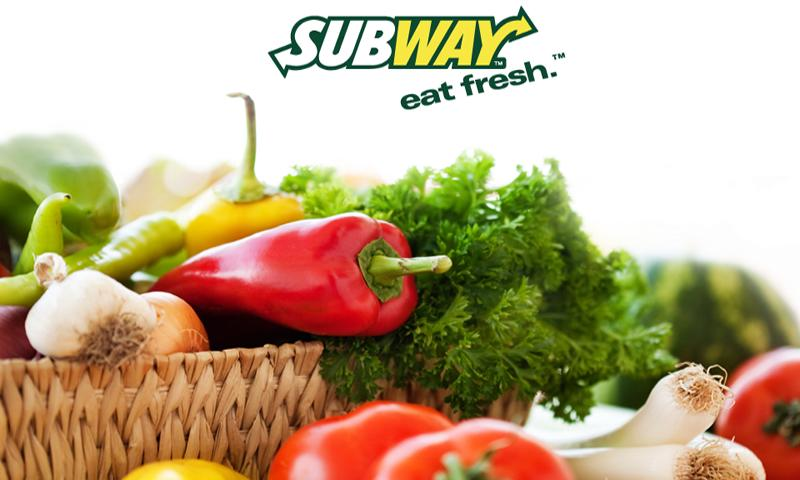 Subway Ordering for California - screenshot