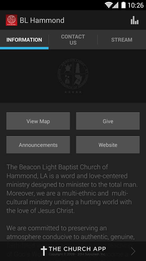 Beacon Light of Hammond, LA - screenshot