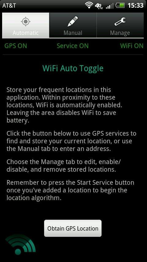 WiFi Auto Toggle- screenshot