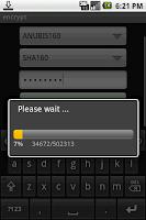 Screenshot of encrypt