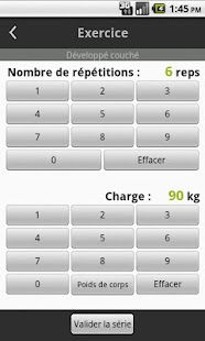 Carnet de Musculation - screenshot thumbnail