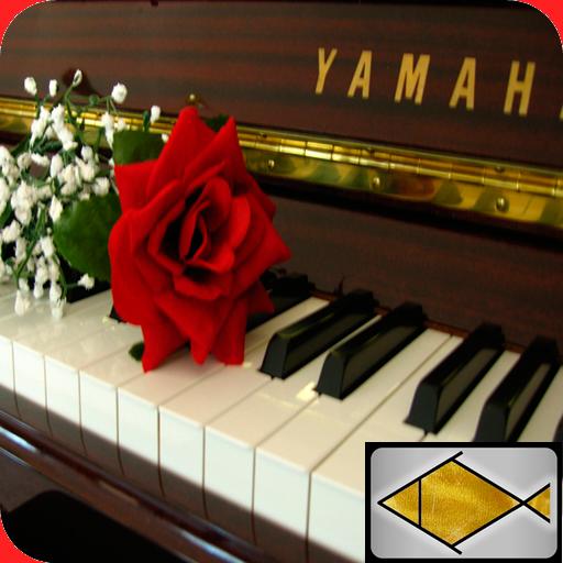 古典鋼琴輕鬆的音樂 LOGO-APP點子
