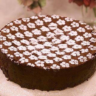 Doris's Velvet Chocolate Cake.
