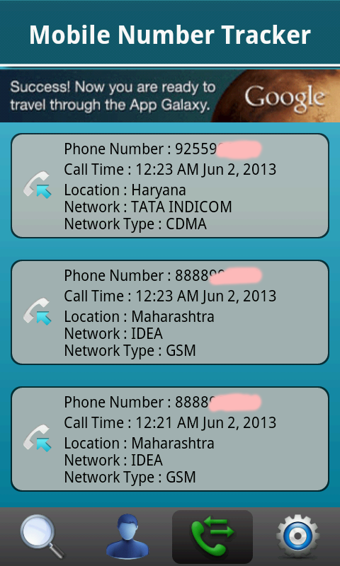 Phone and Cell Tracker India - screenshot