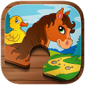 Animal Puzzle Kids + Toddlers icon