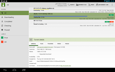 tTorrent Pro - Torrent Client Screenshot 66
