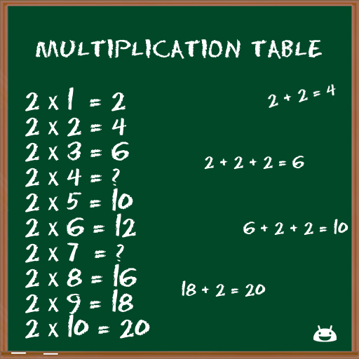 Multiplication Table FREE file APK for Gaming PC/PS3/PS4 Smart TV