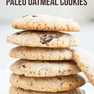 Paleo Oatmeal Cookies.