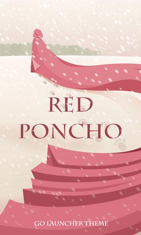 Red Poncho GO Launcher Theme - screenshot