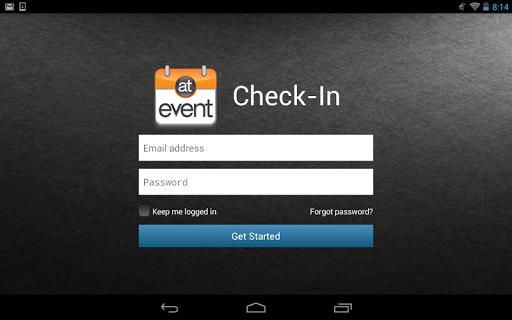 atEvent Check-In