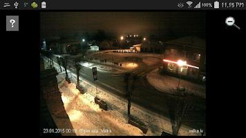 Screenshot of Latvijas vebkameras