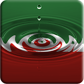 Chechnya flag water effect LWP