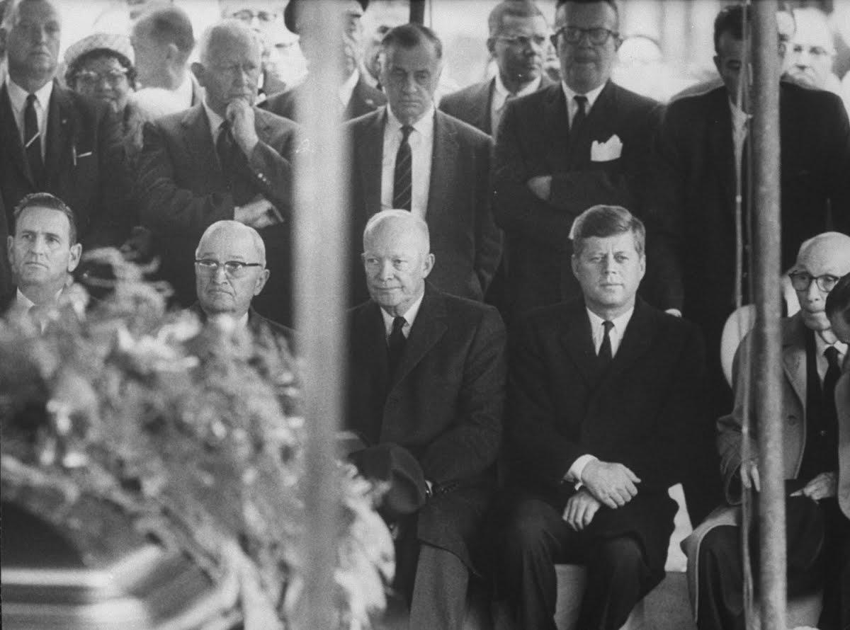 presidents truman eisenhower jfk and johnson