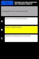 Screenshot of Testes Mecânica