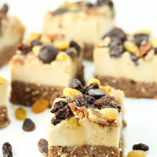 No-bake California raisin cheesecake – Vegan and gluten free