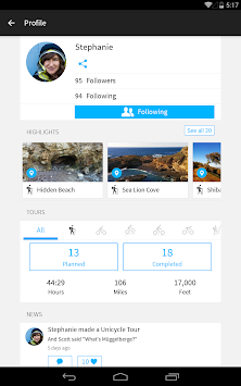 Komoot — Cycling & Hiking Maps APK screenshot thumbnail 12