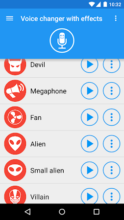 Voice changer with effects 3.1.10 screenshot 19605