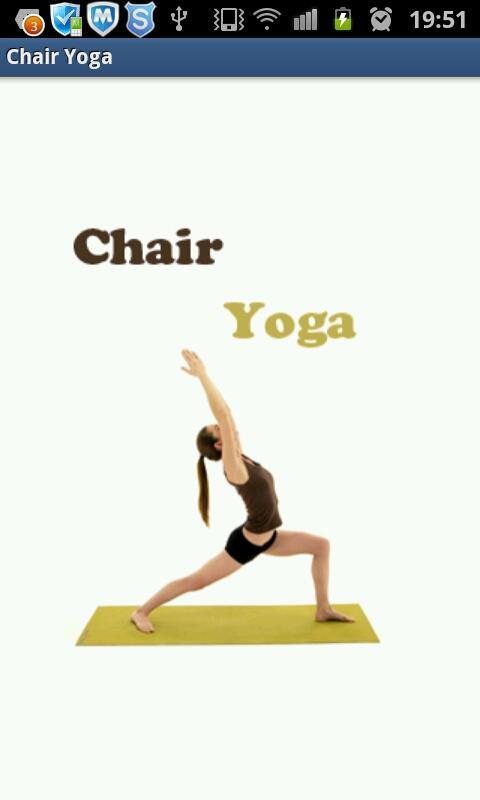 Chair Yoga- screenshot
