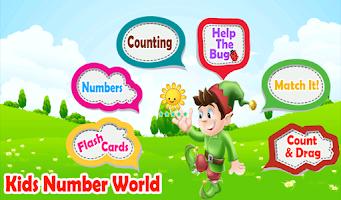 Screenshot of Kids Number World