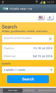 Hotels near me- screenshot thumbnail